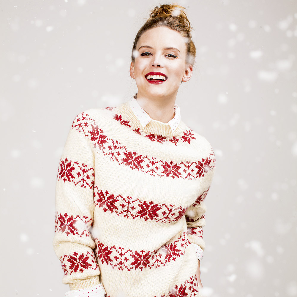 Free knitting patterns: Knit a Scandinavian jumper
