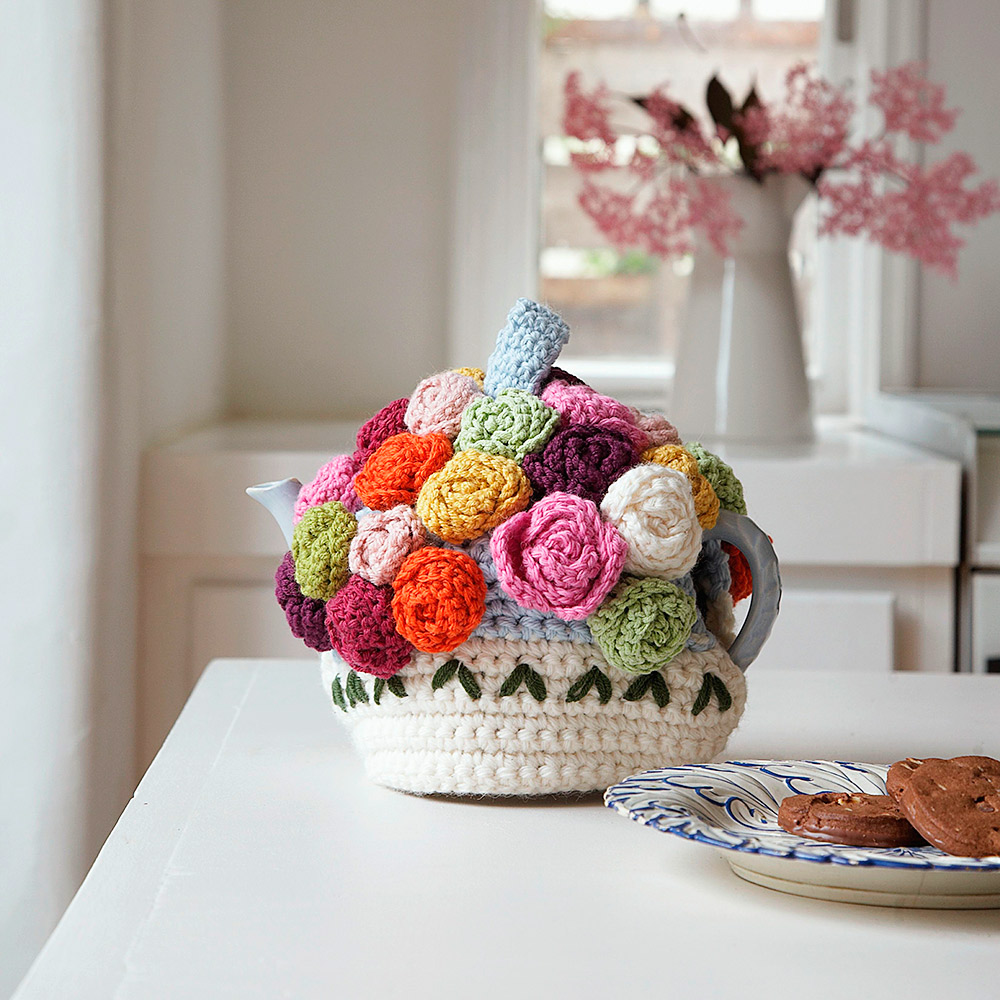 Tea cosy knitting pattern for Tea cosy template