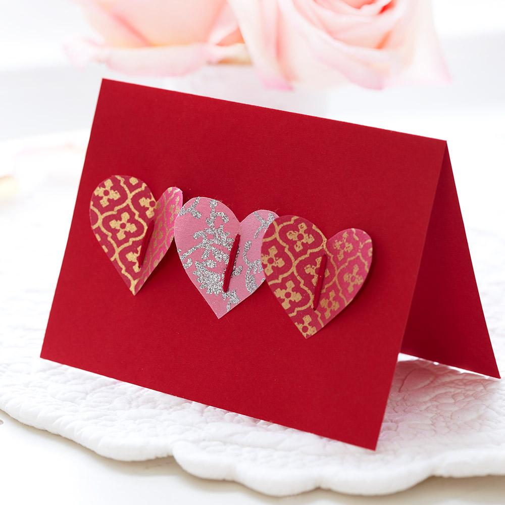 How To Make A Handmade Valentine's Card: Homemade Pop-up