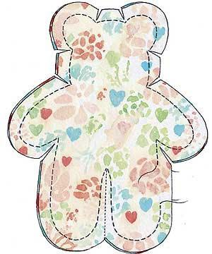 Super Cute Soft Toy Teddy Sewing Pattern