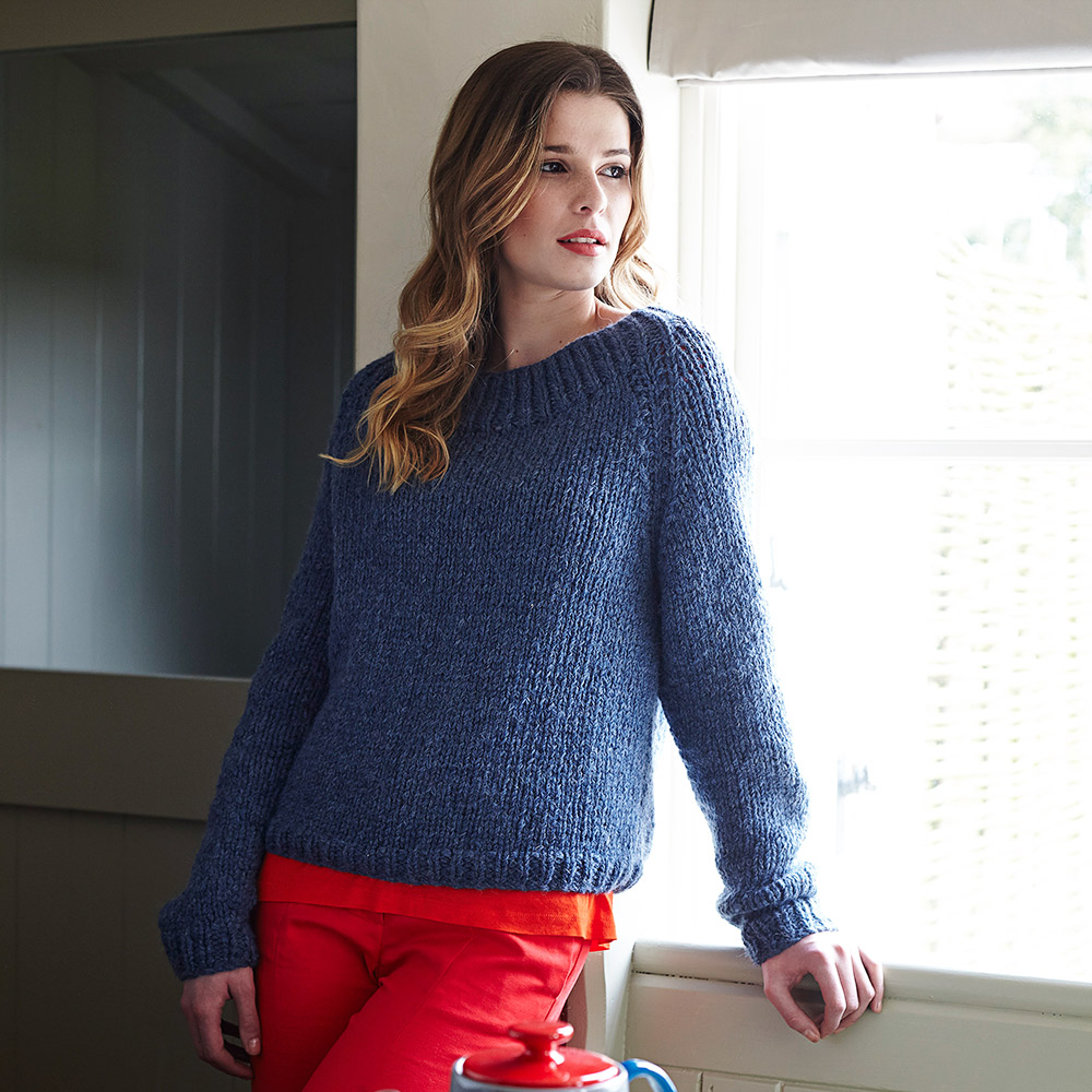 Knit A Sweater Easy : Sweater knitting pattern