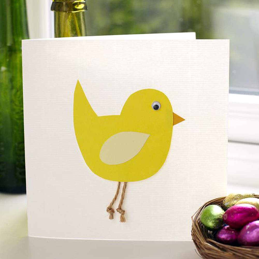 Easter Card Making Ideas Part - 27: How To Make An Easter Chick Card
