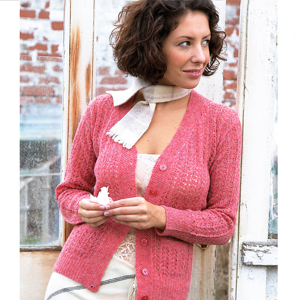 Traditional Shetland-Style Cardigan To Knit