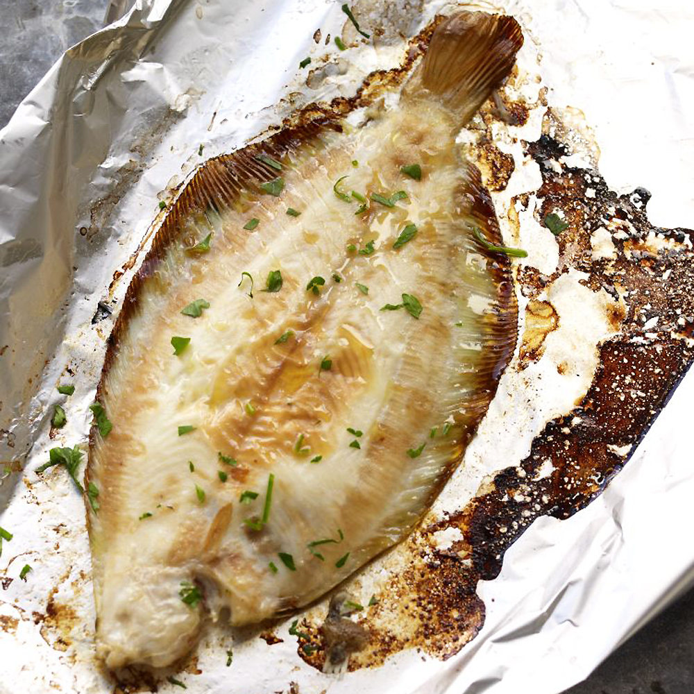 Fabulous idea for fish lemon sole baked with lemon and for Sole fish recipes