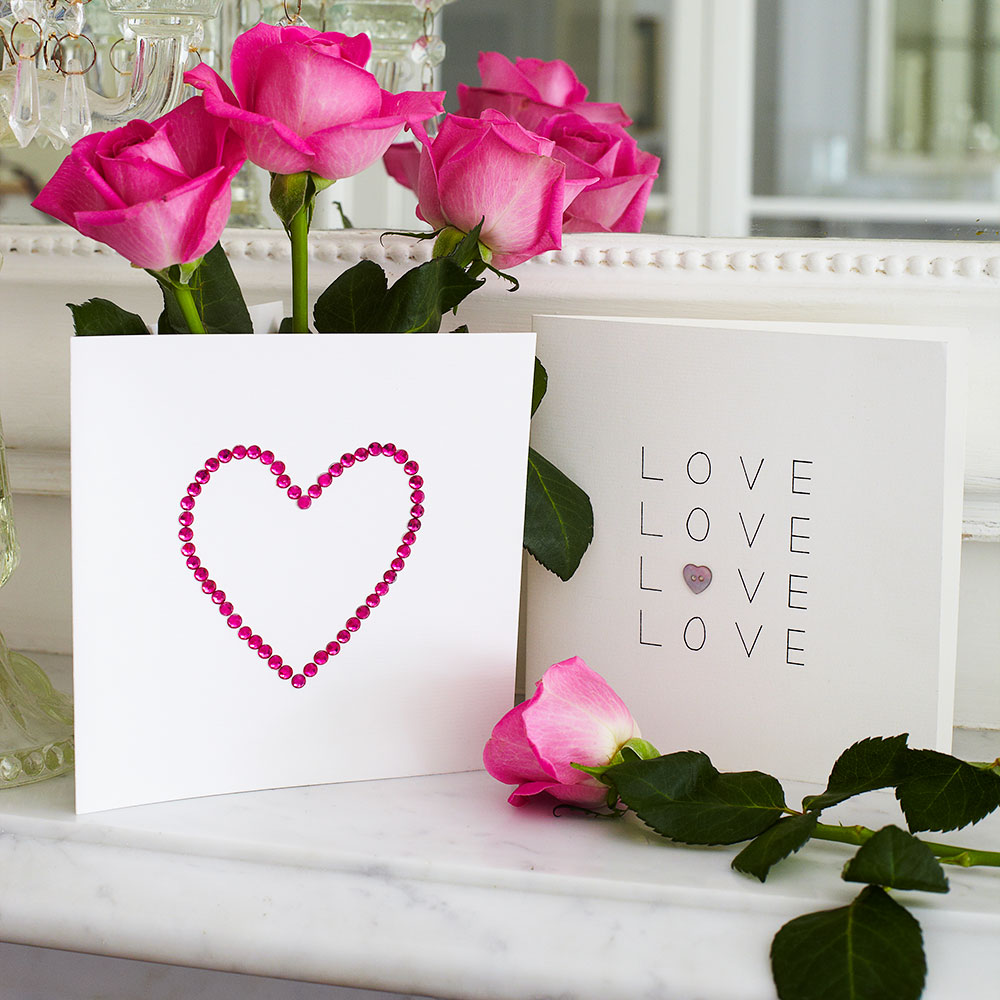make a beautiful anniversary card for your loved ones