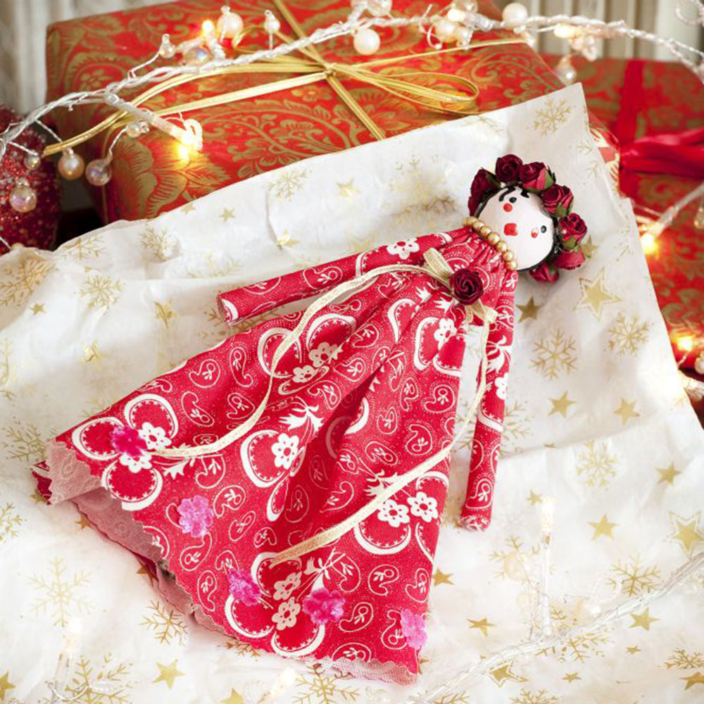 Homemade Christmas Decorations Uk: How To Make A Christmas Tree Fairy: Homemade Tree Topper Idea