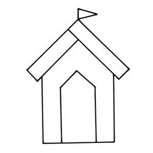 how to make hut for art