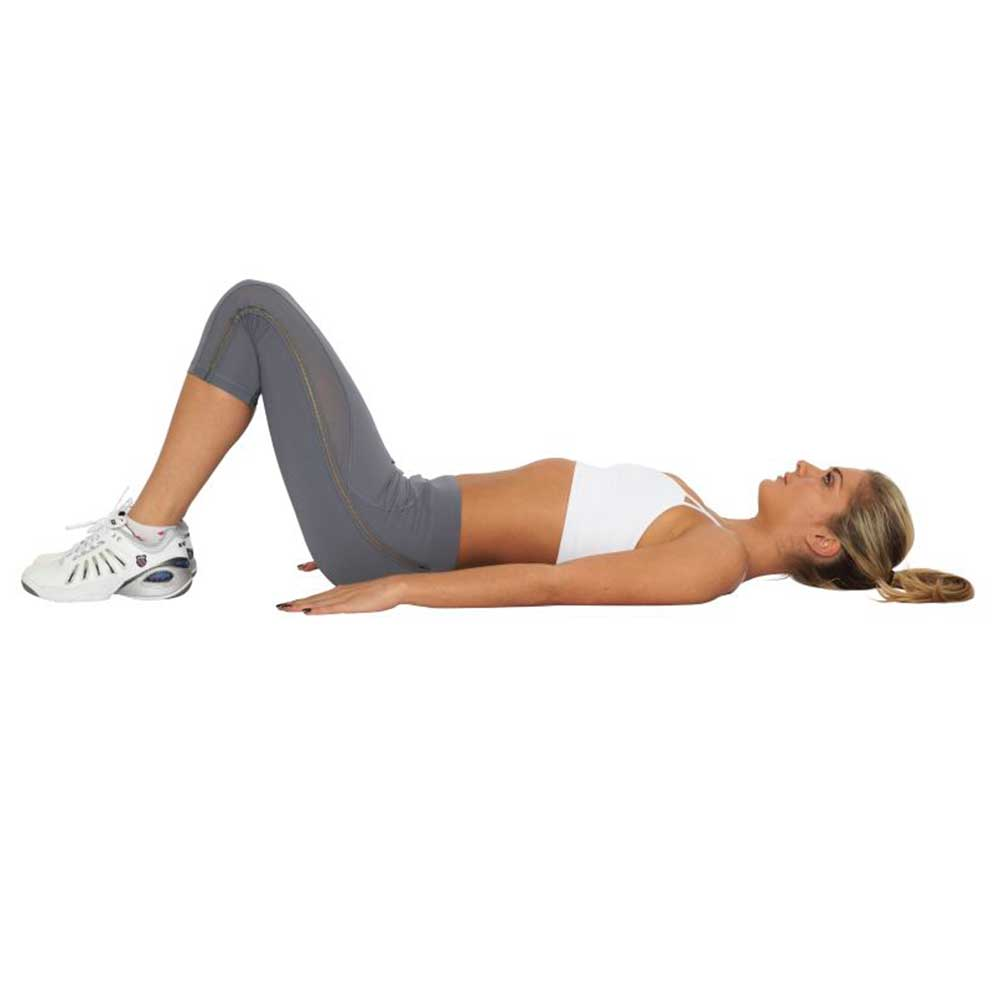 Ab exercises for a post pregnancy belly for Floor ab workouts