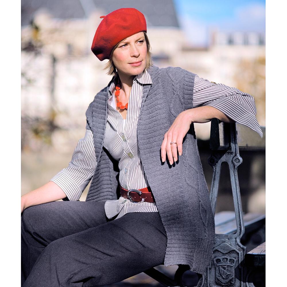Plus Size Knitting Patterns : Pick This Plus-Size Waistcoat Knitting Pattern
