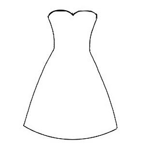 Blank dress templates