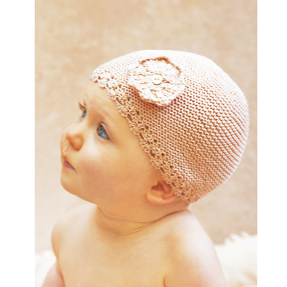 Knitting Pattern Baby Hat 4 Ply : Cute baby hat knitting pattern