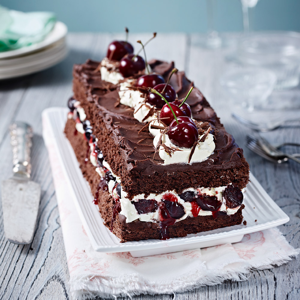 Easy Black Forest Cake Recipe Uk