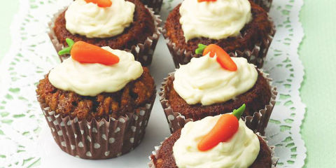 Low Fat Carrot Cake Muffins Uk
