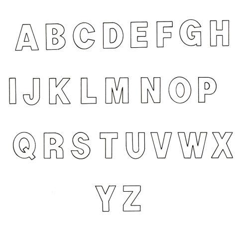free alphabet stencils