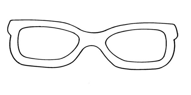 graphic about Luna Lovegood Glasses Printable called Eyewear Template Printable Coloring Web site. How Toward Generate Your