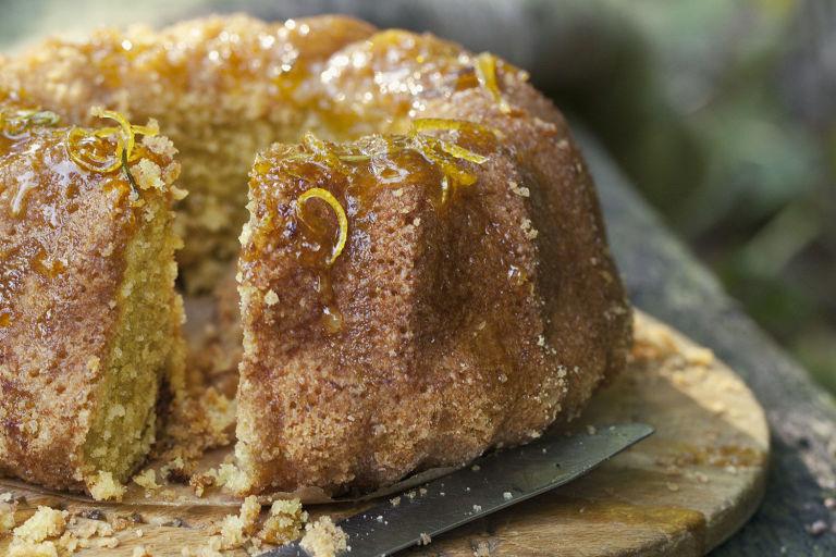 Orange Drizzle Sponge Cake