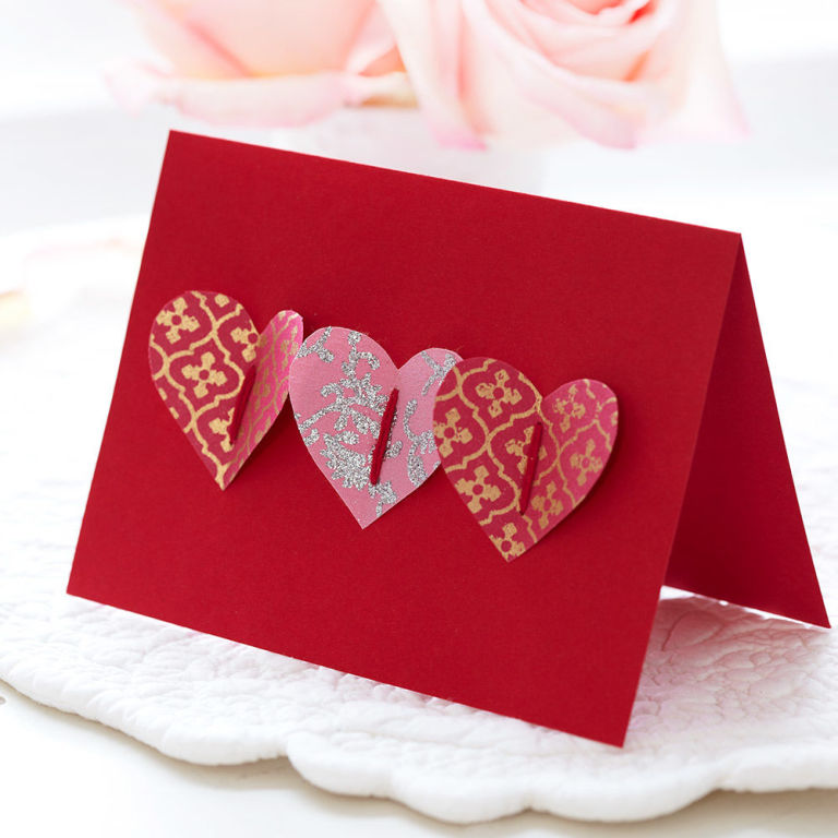handmade valentine cards instantly show you care