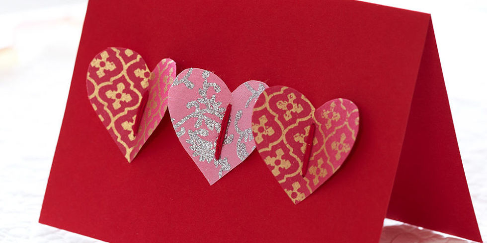 How To Make A Handmade Valentines Card Homemade Popup Heart