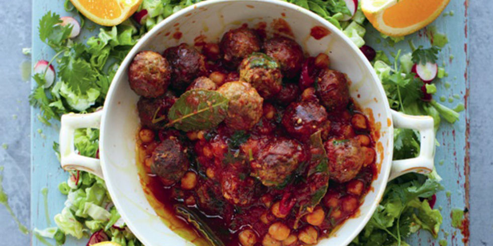 Jamie olivers lamb meatballs recipe 15 minute meals a jamie oliver meatballs recipe with delicious chopped salad and harissa yoghurt ready in 15 minutes this is one of jamies most delicious dinner recipes forumfinder Image collections