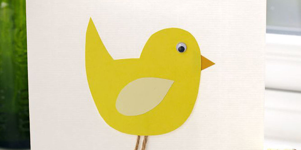 How to make an Easter chick card – How to Make a Easter Card