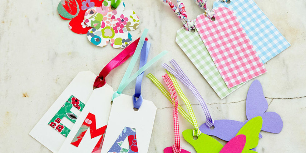 How To Make Handmade Gift Tags For Pretty Presents