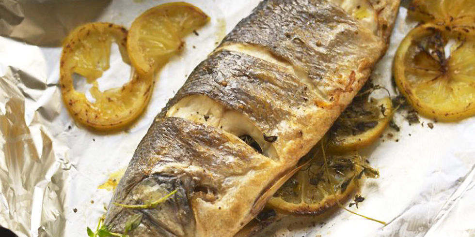 Oven Grilled Whole Fish Recipes
