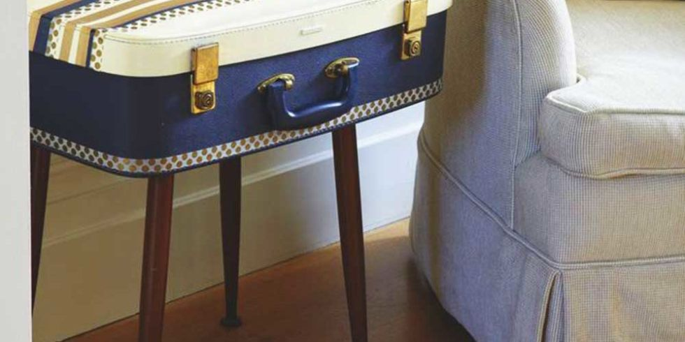 Suitcase Side Table Part 59