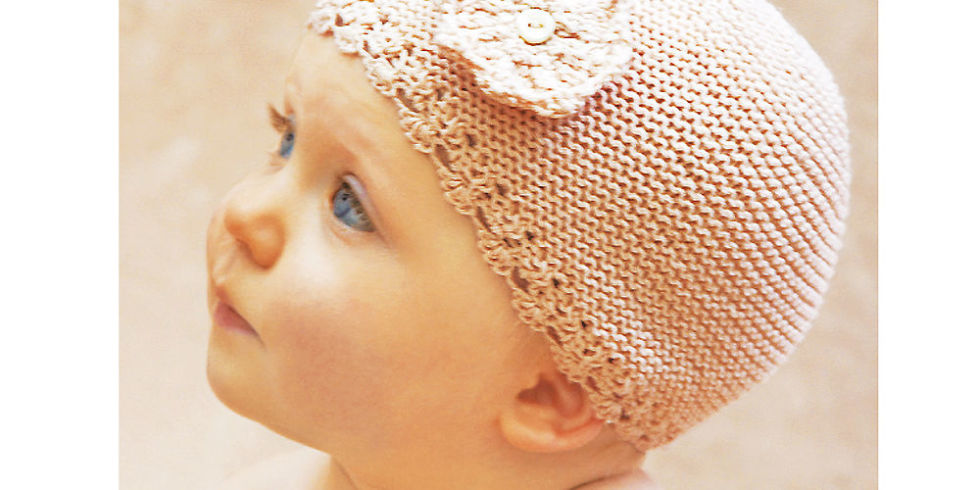 Free Knitting Patterns For Babies: Make A Hat