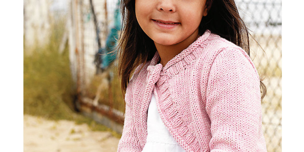 Free Knitting Patterns Girls : Super-Cute Shrug Knitting Pattern For A Little Girl