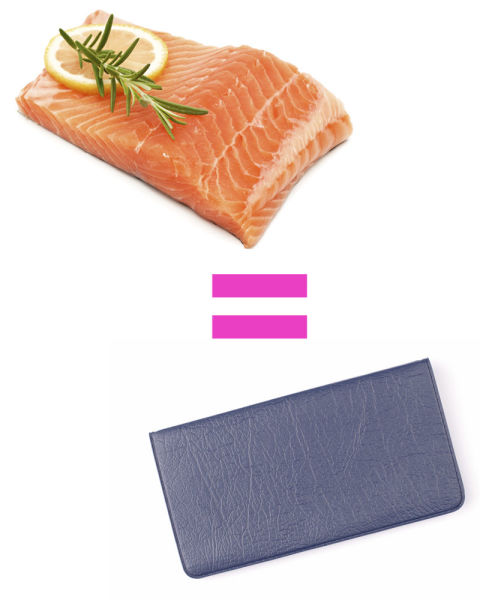 What portion sizes really looks like for Serving size of fish