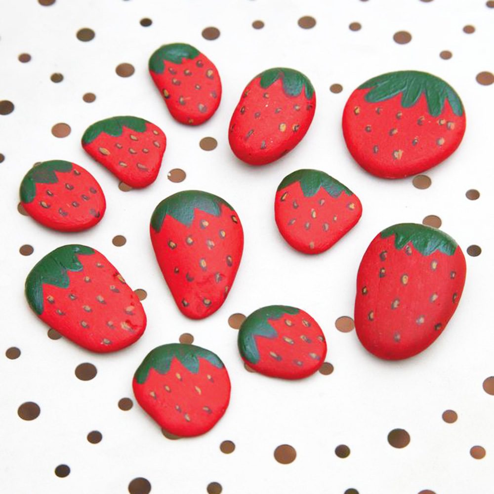 how to make strawberry decoration