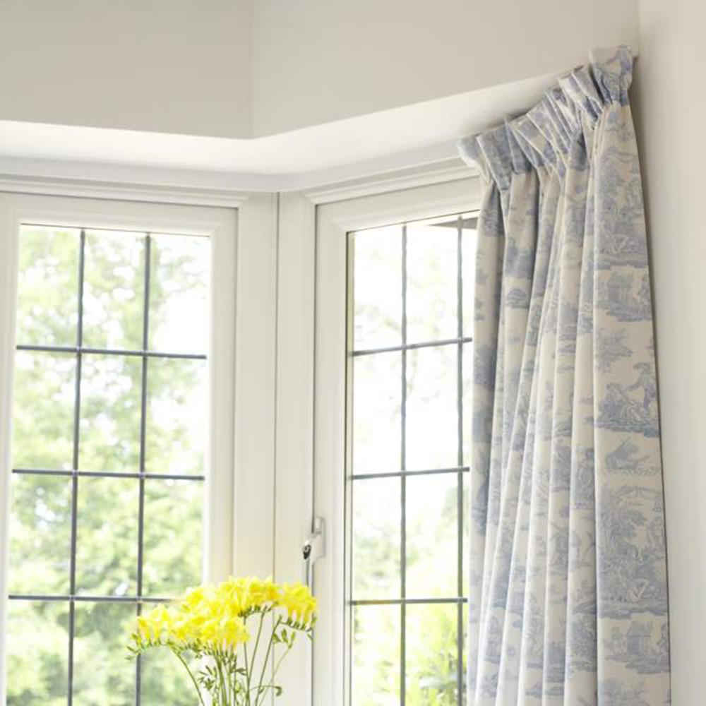 Bay Window Valances: Make Bay Window Curtains: Free Sewing Patterns