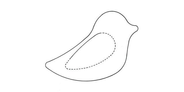 Beautiful Bird Lavender Bags: Free Sewing Pattern