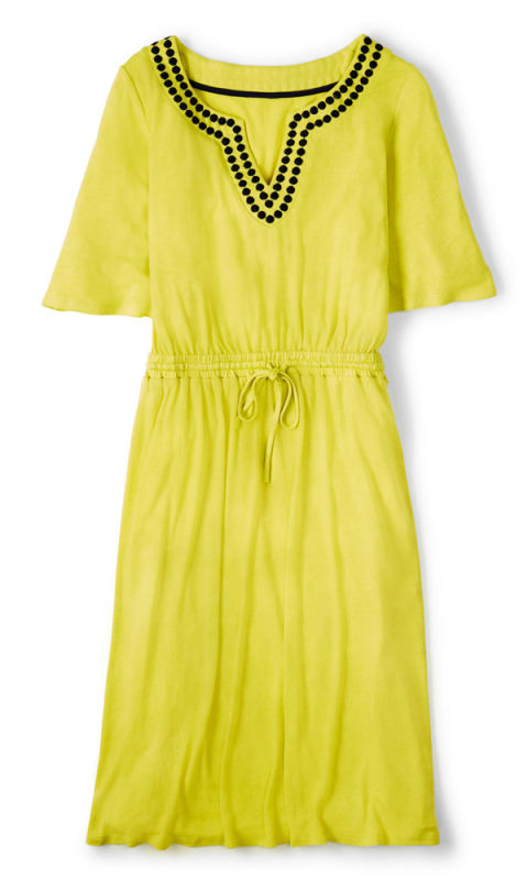The beach cover up 16 styles for instant body confidence for Boden yellow