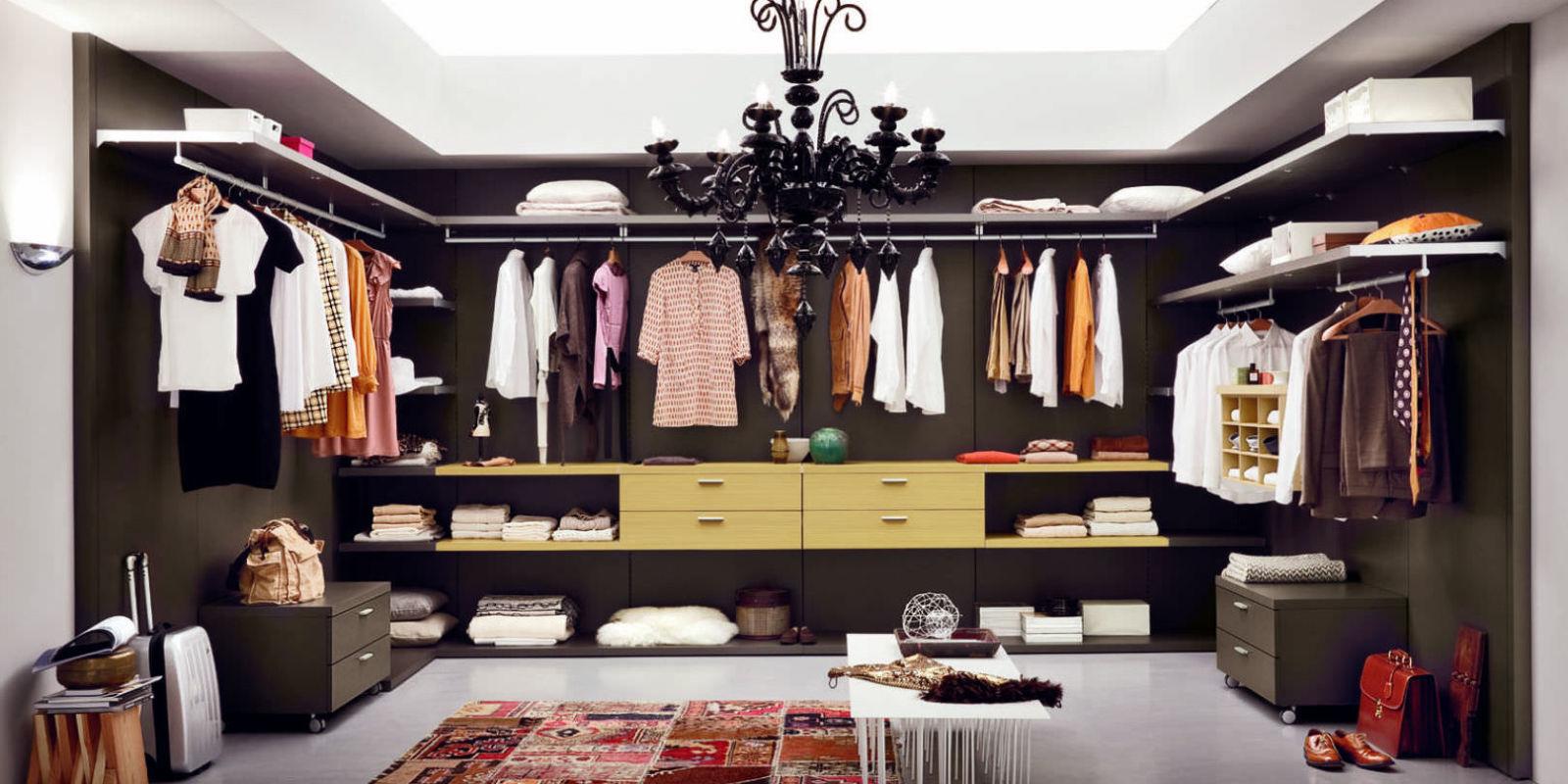 Stylish walk in wardrobe ideas keep your closet clutter free for Wardrobe interior designs for girls