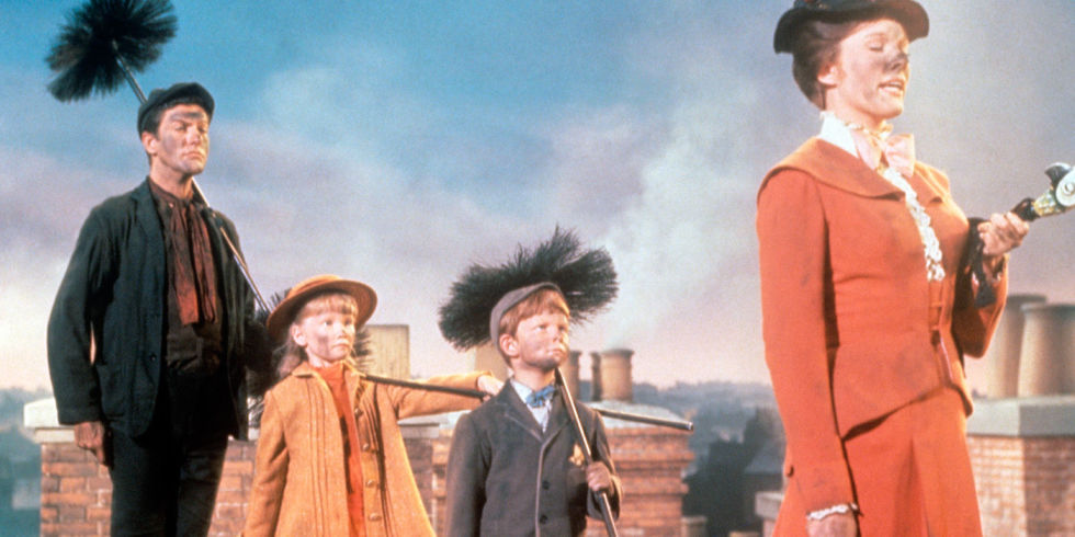mary poppins chimney sweep scene lyrics roof top images