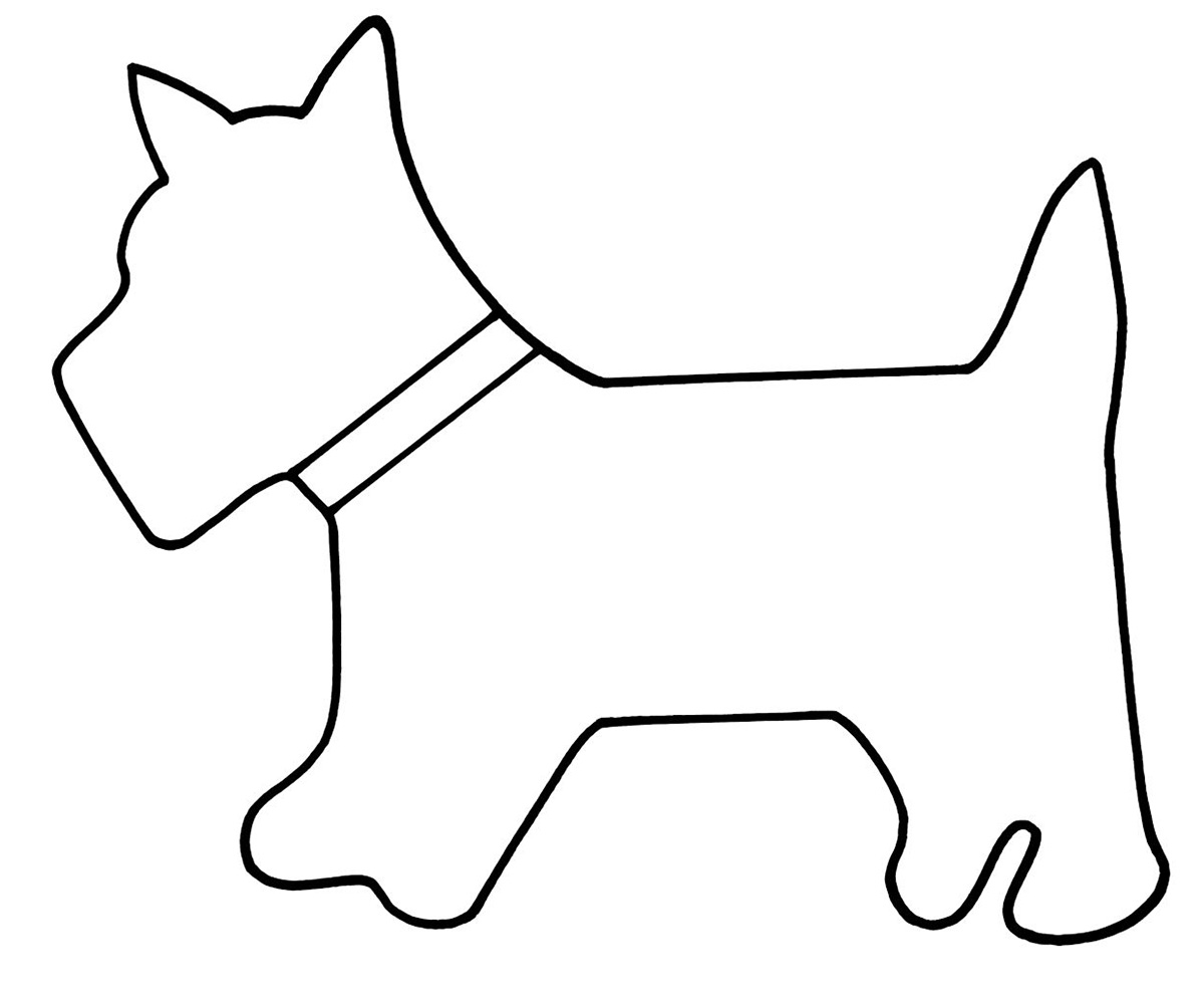 Search Results For Scottie Dog Applique Template