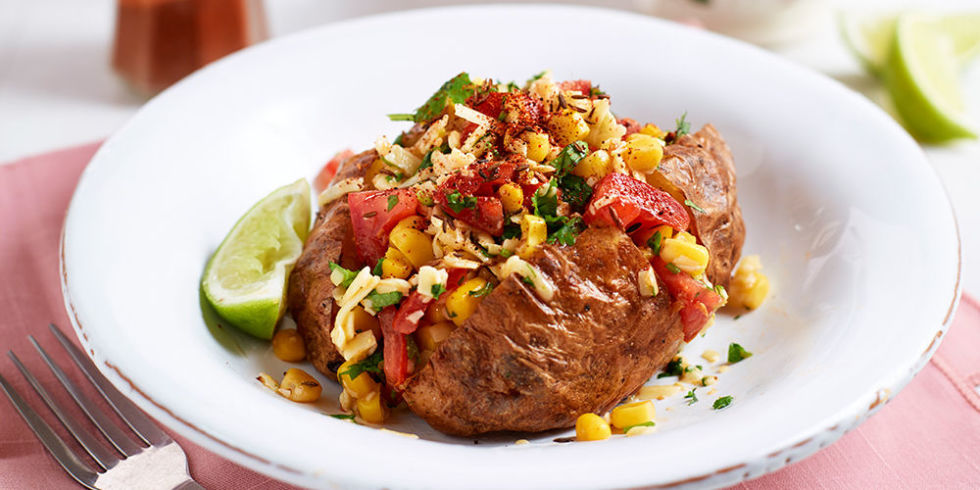 Baked Potato Mexican Salad