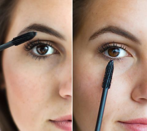 Make your eyelashes longer and fuller by wiggling the applicator back and forth as you apply mascara to top lashes. Then turn the brush vertically to precisely apply mascara to your bottom lashes.<br />Get the tutorial at Cosmopolitan.<br />
