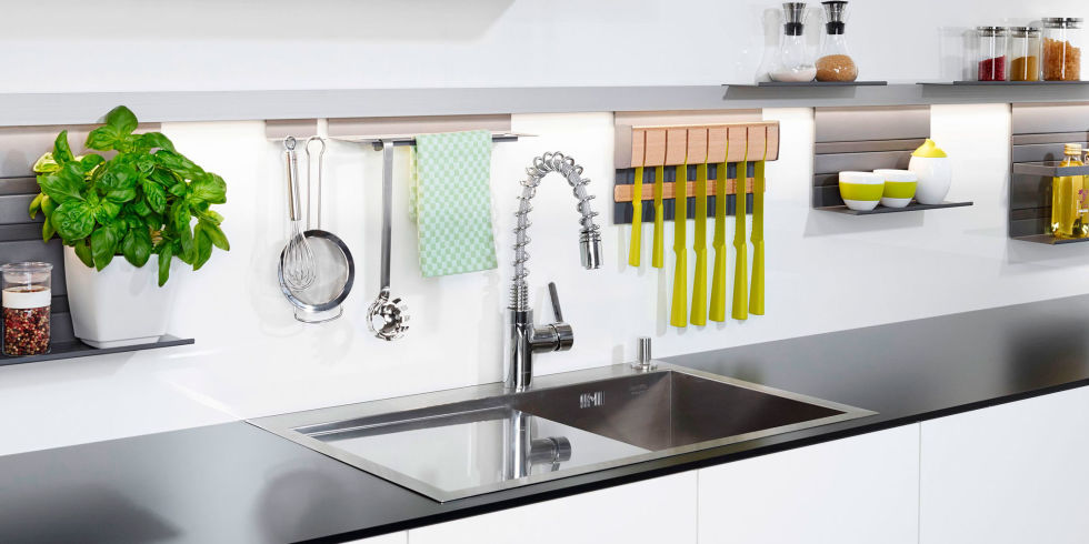 Amazing Unique Kitchen Storage Ideas Part - 13: MosaiQ Storage System