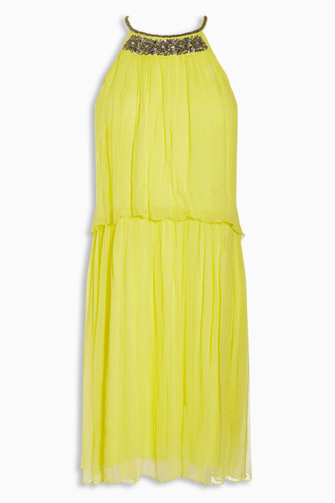 Yellow dress for wedding guest gown and dress gallery for Dresses for wedding guests uk