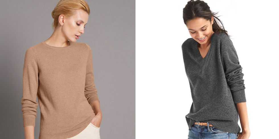 Best affordable cashmere jumpers