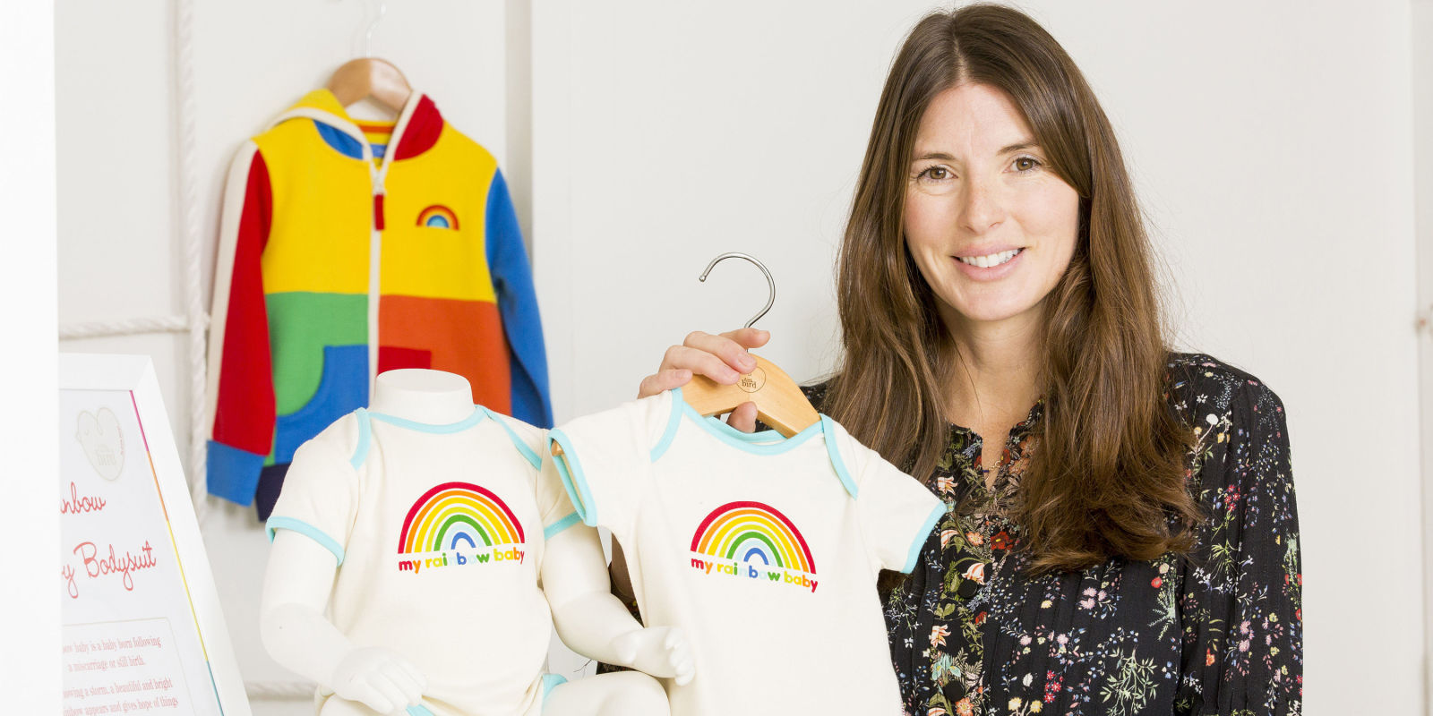 jools oliver creates rainbow charity collection for. Black Bedroom Furniture Sets. Home Design Ideas