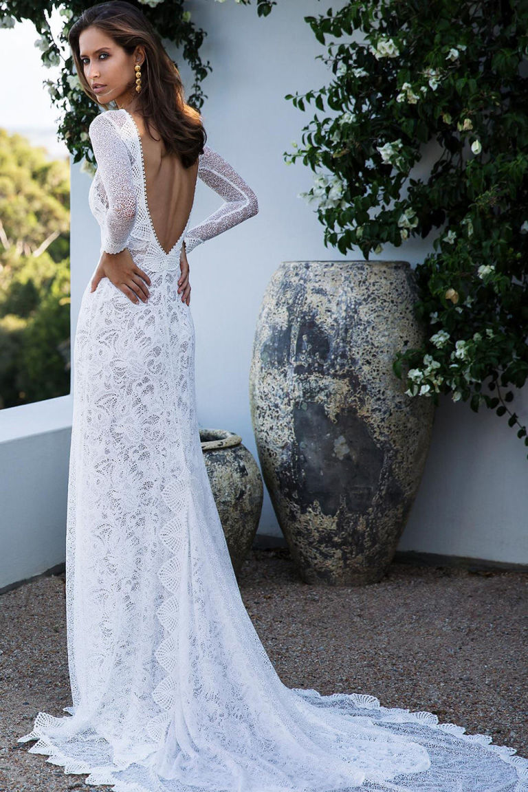 Pinterests most popular wedding dress designer has launched a new