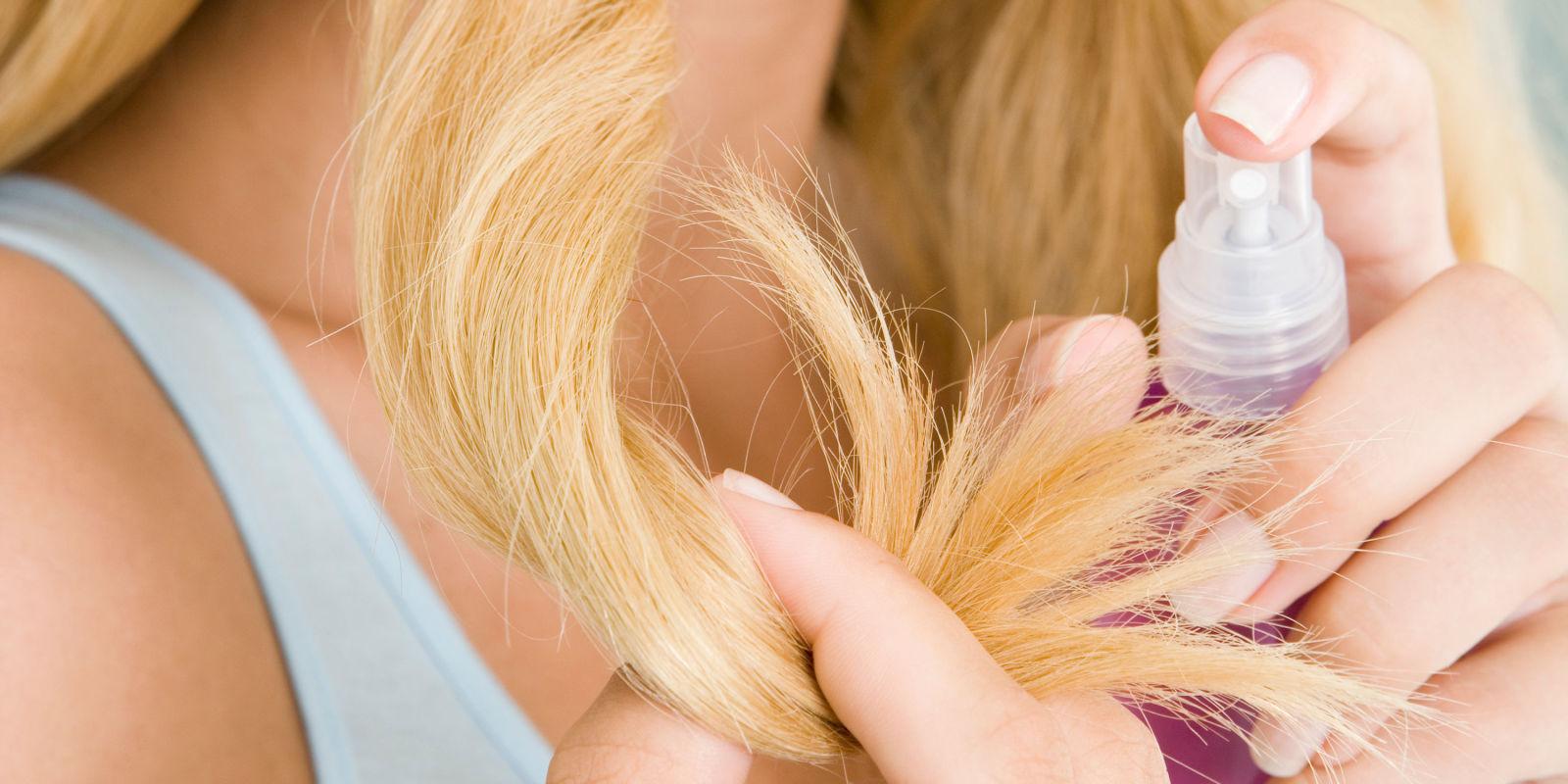 Приготовление спрея для волос в домашних условиях