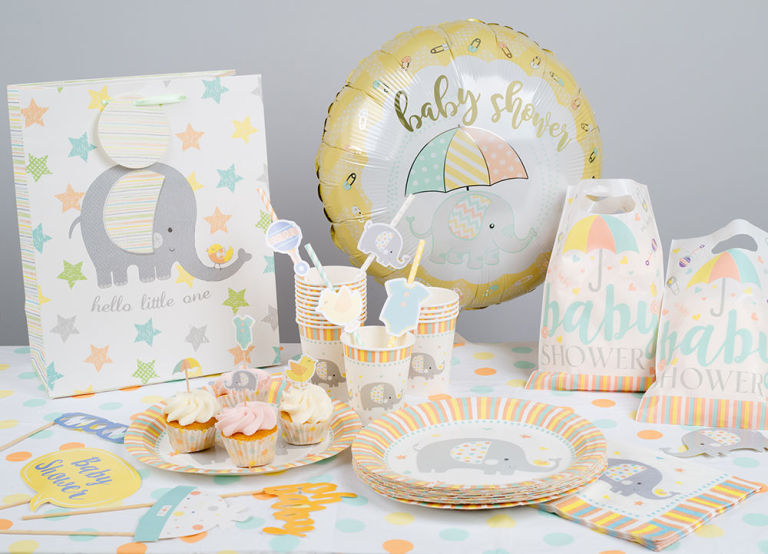 Poundland Baby Shower Accessories