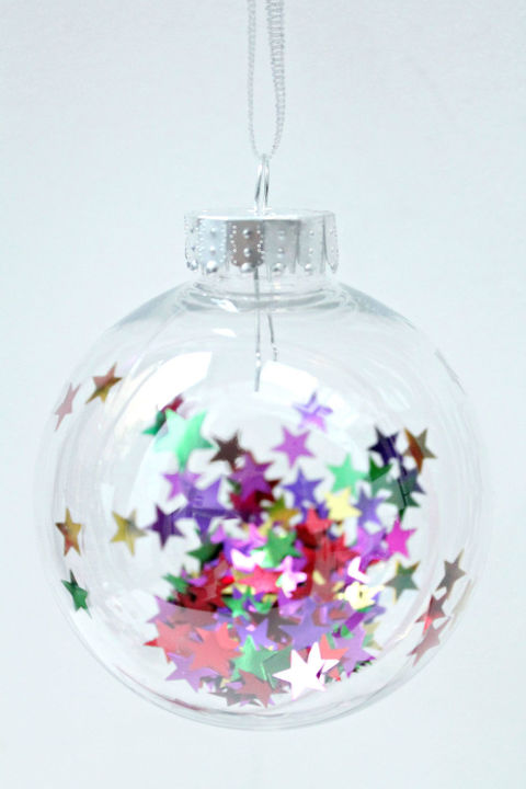 Baubles Filling Craft Ideas