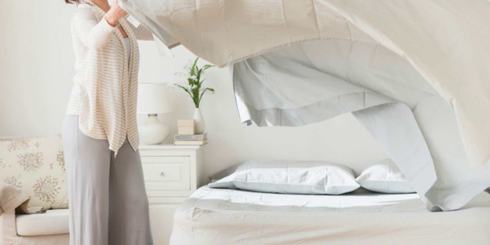 This Is How Often You Should Be Washing Your Bed Sheets