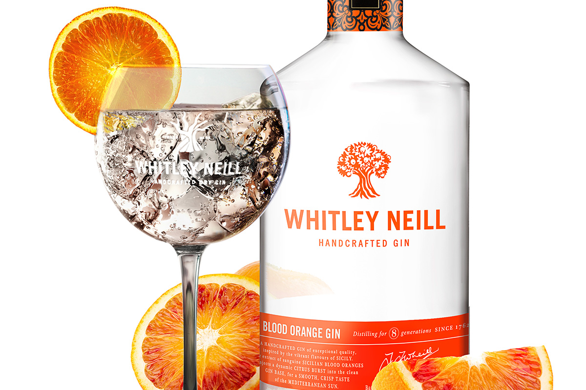 Blood Orange Gin Whitley Neill Launches Blood Orange And